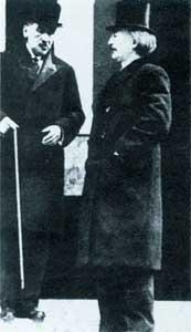 Roman Dmowski i Ignacy Paderewski w Paryzu