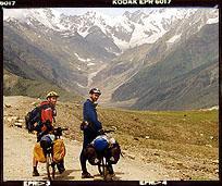 Na przełęczy Rohtang