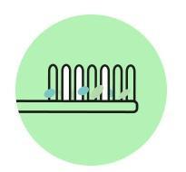 Bakterie rozwijające się na szczoteczce do zębów