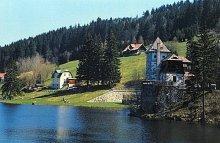 Urocze okolice zapory w miejscowości Spindleruv Mlyn