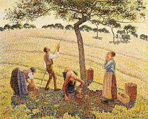 298px-Camille_Pissarro_-_La_récolte_des_pommes_à_Éragny