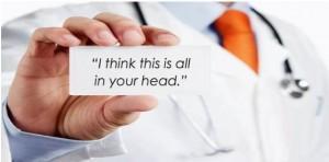 """""""Uważam, że wszystko to jest w twojej głowie""""."""