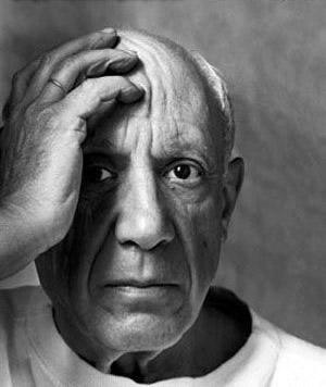 Pablo Picasso - portret