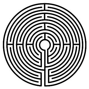 labirynt kołowy