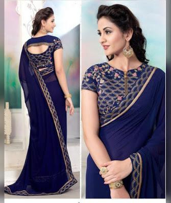 https://b4ufashioncollection.com/product/new-arrival-premium-navy-blue-georgette-saree-with-blouse-piece/