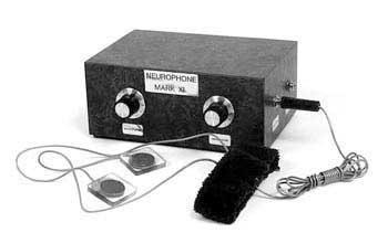 Pierwszy neurofon skonstruowany przez Dr. Flangana