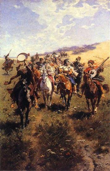 Wesele Kozackie obraz J.Brandta