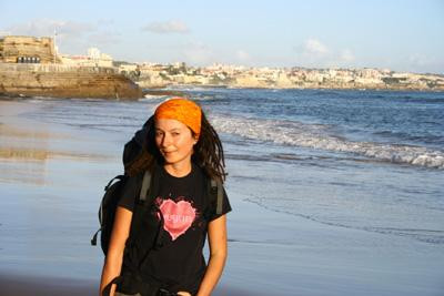 on the Portugese coast
