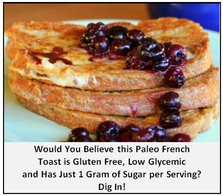 Uwierzysz? Ten francuski toast paleo jest bezglutenowy, nisko glikemiczny i porcja zawiera jedynie 1 g cukru.