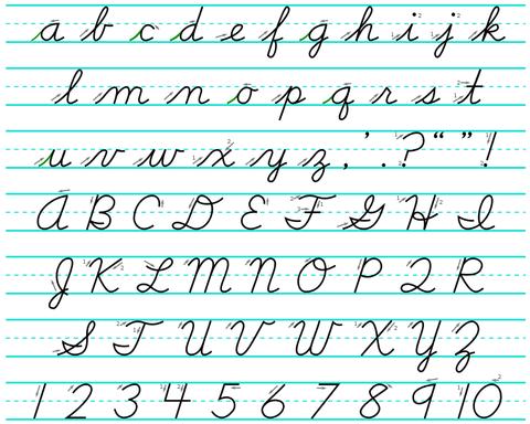 czeskie pismo
