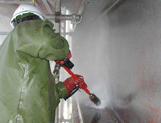High Pressure hose cleans