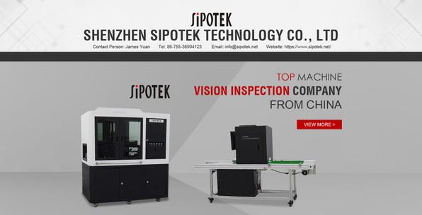Sipotek Visual Inspection Machine