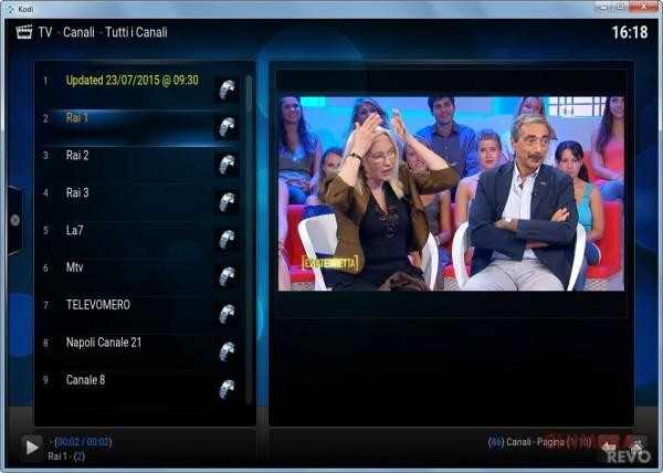 canali TV in streaming