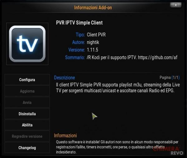 Abilita IPTV
