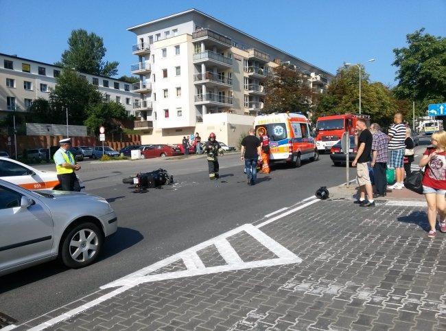 wypadek GdyniaNaszeMiasto