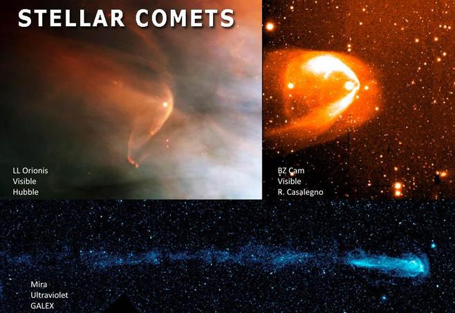 stars comets