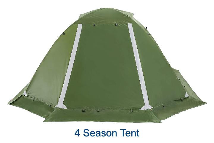 Pick the right tent for winter camping