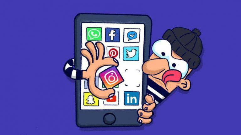 social account hacked