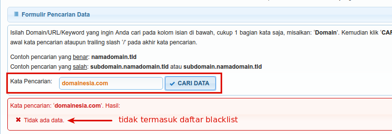 cara membuka situs terblokir internet positif