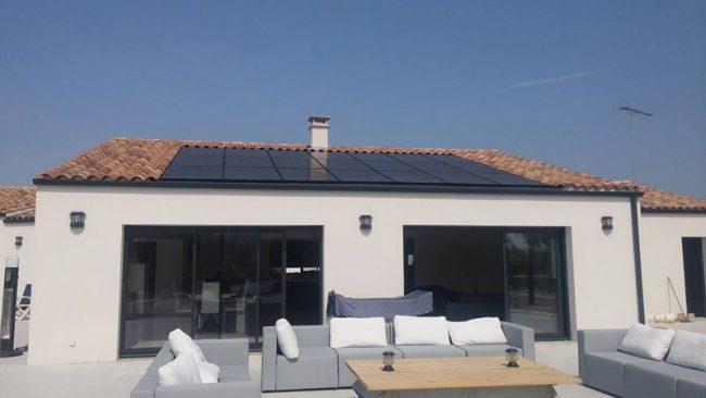 Maison panneau solaire autoconsommation