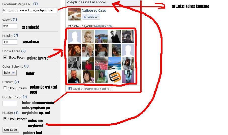 Jak dodać wtyczkę społecznościową facebook