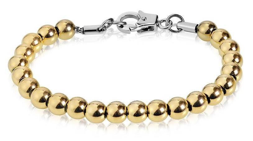 gold steel metal bead bracelet.jpg