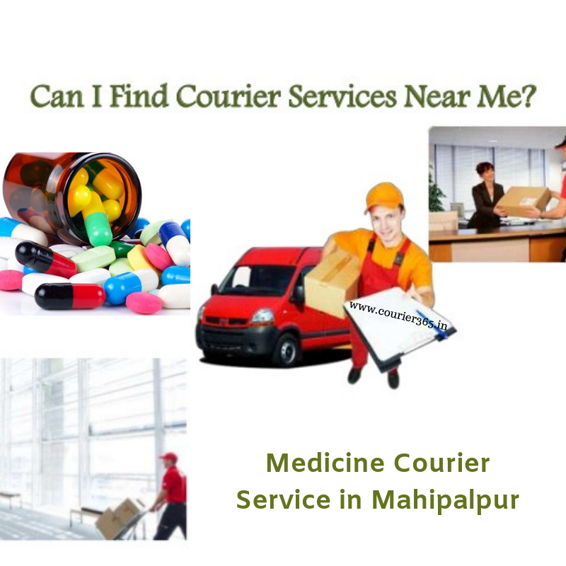 Medicine Courier Service in Mahipalpur.png