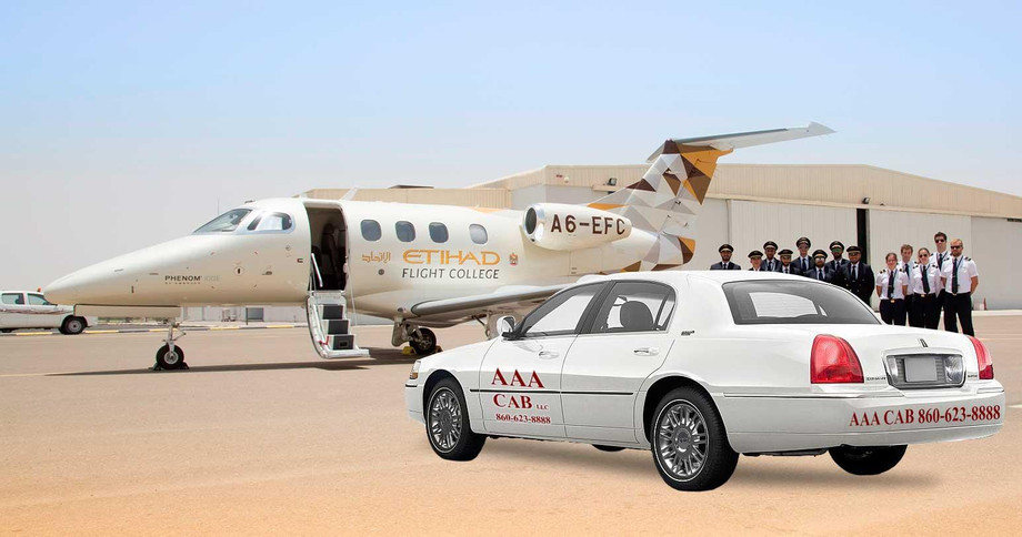 town-car-aaa-cab-Etihad-Flight-College-Embraer-Phenom.jpg