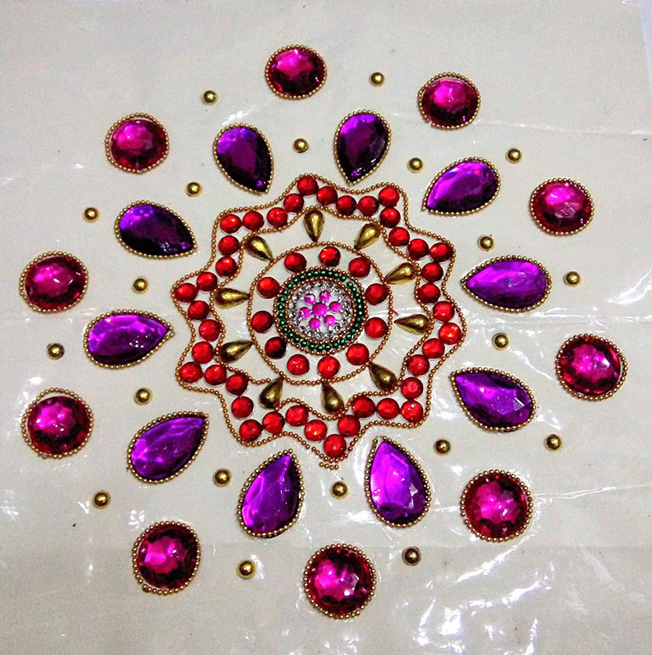 Handcrafted Decorative Rangoli set.jpg