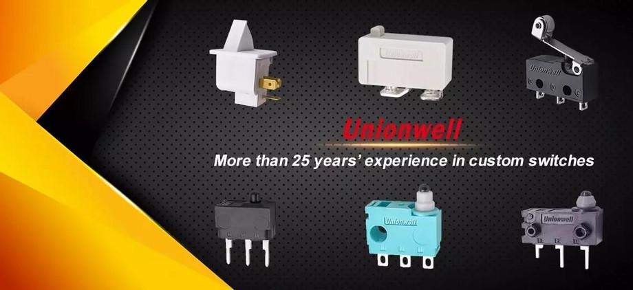 Micro interruptor en deshumidificador